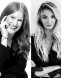 Emma Sharley and Dominika Gac