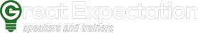 Great Expectation Speakers and Trainers Footer Logo